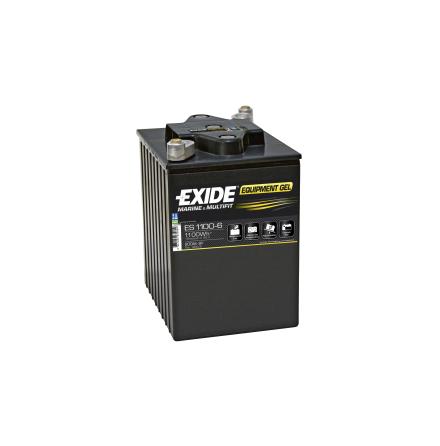Fritidsbatteri 200Ah GEL Tudor Exide GEL ES1100-6 LxBxH:245x190x275mm