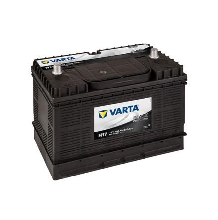 Bilbatteri 12V 105Ah  H17 LxBxH=330x172x240mm PRO Black HD105 605102080