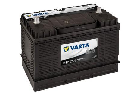 Bilbatteri 12V 105Ah H17