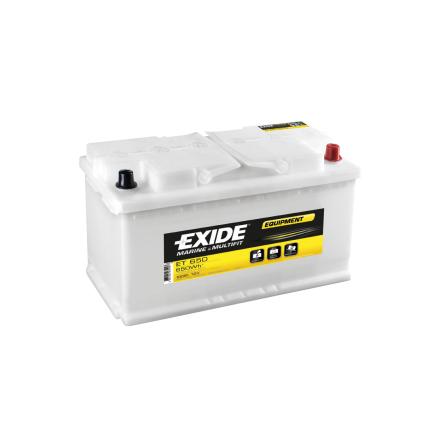 Fritidsbatteri 12V 100Ah Tudor Exide ET700-6 LxBxH:245x190x275mm