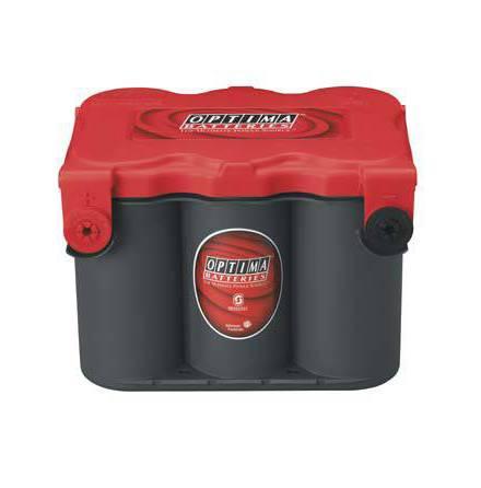 Startbatteri Optima 12V 50Ah  RedTop RTF4,2L 8078-209, LxBxH:254x185x184mm RTF4,2L 8078-109