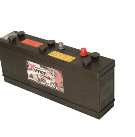 Bilbatteri veteranbil 12V 63Ah  DIN: 57016 57211 LxBxH:490x108x224mm