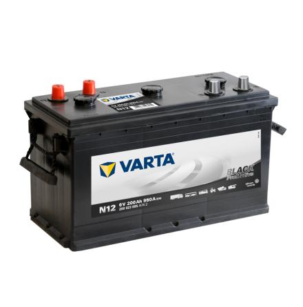 Bilbatteri Varta N12 PRO Black Dynamic 6V 200Ah 200023095 A742