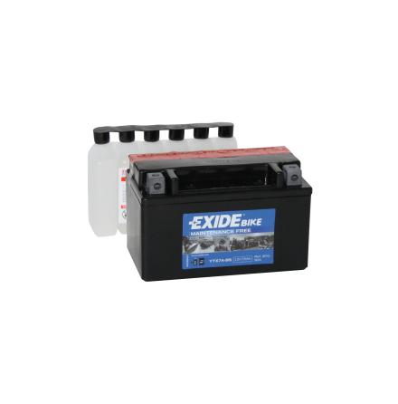 Tudor Exide MC batteri 6Ah AGM YTX7A-BS 4593 lxbxh=150X90X95mm