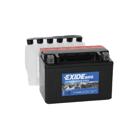 Tudor Exide MC batteri 8Ah AGM YTX9-BS  4595