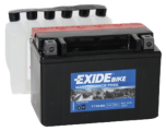 Tudor Exide MC batteri 8Ah AGM YTX9-BS 4595 lxbxh=150X90X105mm