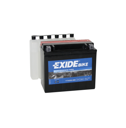 Tudor Exide MC batteri 18Ah AGM YTX20H-BS 4598 lxbxh=175X90X155mm