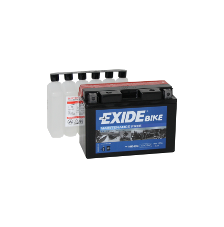 Tudor Exide MC batteri 8Ah AGM YT9B-BS 4903 lxbxh=150X70X105mm