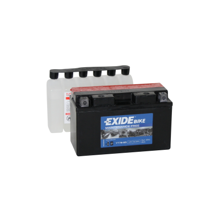 Tudor Exide MC batteri 6,5Ah AGM YTX7B-BS  4904