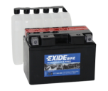 Tudor Exide MC batteri 9,5Ah AGM YT12A-BS 4905 lxbxh=150X90X105mm