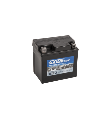 Tudor Exide MC batteri 4Ah AGM12-5 4910 YTX5L-BS lxbxh=115X70X105mm