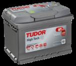 Startbatteri 61Ah Tudor Exide TA612 High Tech. LxBxH:242x175x175mm