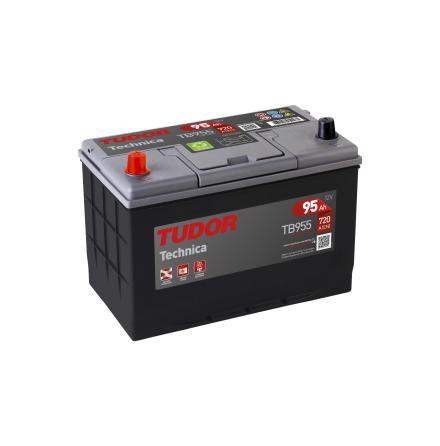 Startbatteri 95Ah Tudor Exide TA955 High Tech. LxBxH:306x175x222mm