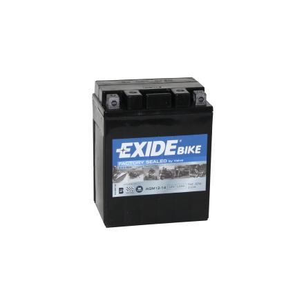 Tudor Exide MC batteri 12Ah AGM12-14  4919 lxbxh=135X90X165mm YBL12AL-A2 YBLAL-A YB14L-A1 YB14L-A2 YB14L-B2 YTX14AHL-BS