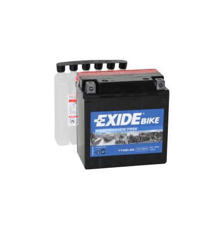 Tudor Exide MC batteri 9Ah AGM YTX9C-BS 4962 lxbxh=135X75X140mm