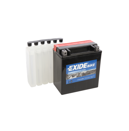 Tudor Exide MC batteri 14Ah AGM YTX16-BS 4974 lxbxh=150X90X160mm