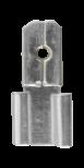 Batteripoladapter T2 till T1 Faston Påse med 50st