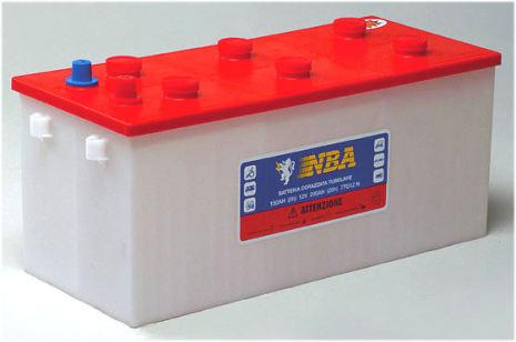 Rörcellsbatteri truckbatteri NBA 12V 160Ah/5h 210Ah/20h lxbxh= 513x218x215mm 8TG12N. Hela 1200 cykler