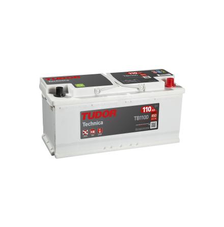 Startbatteri 110Ah Tudor Exide TB1100 Technica. Lx