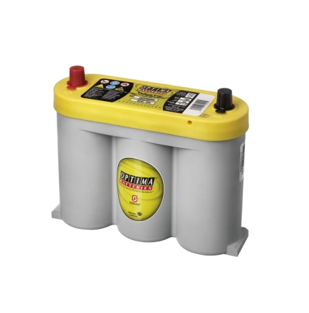 Optima batteri 6V 55Ah Yellow Top YTS2,1 8018-356 LxBxH:254x90x203mm