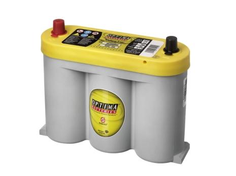 Optima batteri 6V 55Ah Yellow Top YTS2,1 8018-356 LxBxH:254x90x203mm