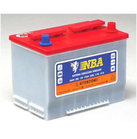 PS rörcellsbatteri 12V 75Ah/20h/57Ah/5h