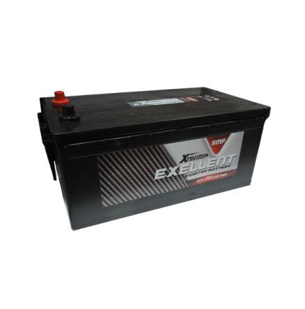 Bilbatteri 12V 230Ah Extreme LxBxH:514x276x242mm Hela 1400CCA(EN) i starteffekt!