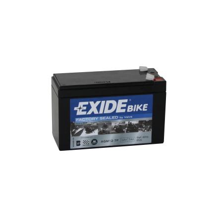Tudor Exide MC batteri 7Ah AGM12-7F 4923 lxbxh=150X65X100mm