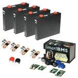 Lithium-Ion batteri(LiFePO4) 12V/200Ah. Komplett kit med Bluetooth övervakning!