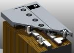 Gelbatteri 12V 200Ah Batteriexpressen. LxBxH:517x270x240mm