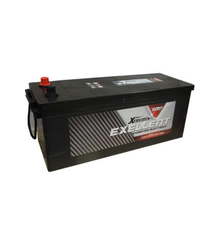 Bilbatteri 12V 140Ah Extreme Excellent LxBxH:513x189x220mm