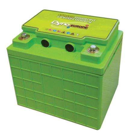 Lithium-Ion batteri(LiFePO4) 12,8V/110Ah med PCM Kan seriekopplas till max.48V