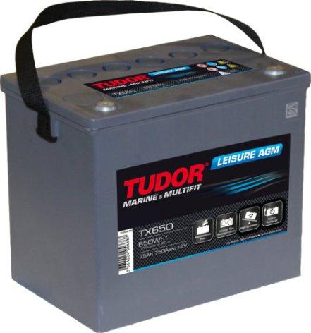 Batteri Tudor AGM Dual Power