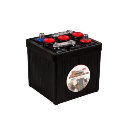 Bilbatteri 6V 66Ah(Amerikanska)-Extreme Excellent LxBxH:177x175x185mm