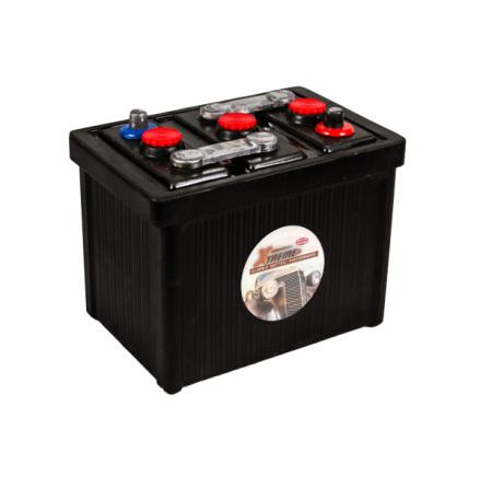 Bilbatteri 6V 145Ah(Amerikanska)-Extreme Excellent LxBxH:255x174x217mm