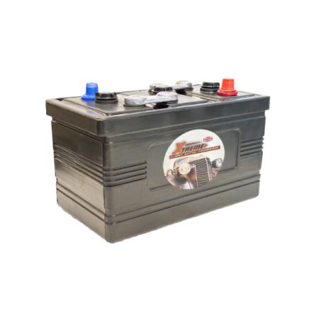 Bilbatteri 6V 131Ah Veteranbil LxBxH:320x170x226mm
