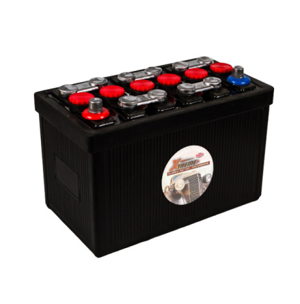 Bilbatteri 12V 70Ah Veteranbil LxBxH: 315x175x225mm