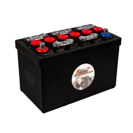 Bilbatteri 12V 70Ah Veteranbil LxBxH: 315x175x225m