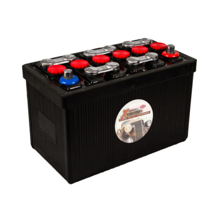 Bilbatteri 12V 70Ah Veteranbil LxBxH:315x175x225mm