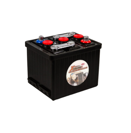 Bilbatteri 6V 77Ah(Amerikanska)-Extreme Excellent LxBxH:215x170x190mm