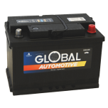 Bilbatteri 12V 80Ah Global 58024 LxBxH:278x175x190mm EAN:7394086580246