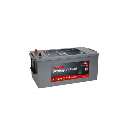 Startbatteri 12V 225 Ah Tudor Exide StrongPRO HVR TE2253