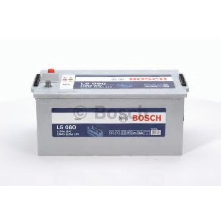 Fritidsbatteri 12V 230Ah Bosch L5080 LxBxH=LxBxH:470/518x276x242mm  ETN 930230115.
