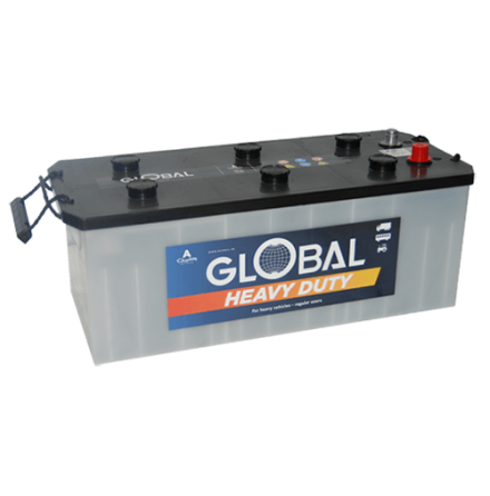 Bilbatteri 12V 140Ah Global 62811 LxBxH:470/506x206x178/202mm ink.pol. EAN:7394086628115