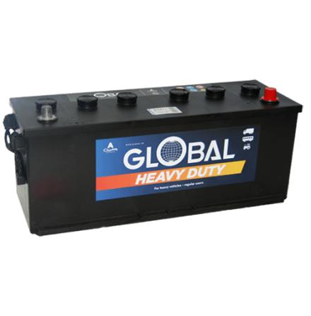 Bilbatteri 12V 140Ah Global 63211 LxBxH:508x175x180/205mmEAN:7394086632112