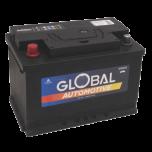 Bilbatteri 12V 80Ah Global 58001 LxBxH:278x175x190mm SMF L3 EAN 7394086580017