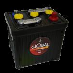 Bilbatteri 6V 84Ah Global 51084 LxBxH:225x175x195/220mm EAN 7394086510847