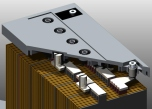 Gelbatteri 12V 75Ah Batteriexpressen. LxBxH:272x165x190mm