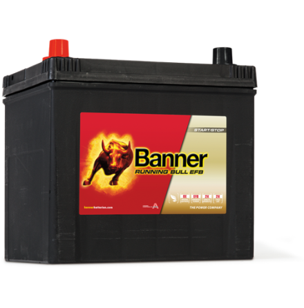 Startbatteri Banner Running Bull EFB 12V/65Ah