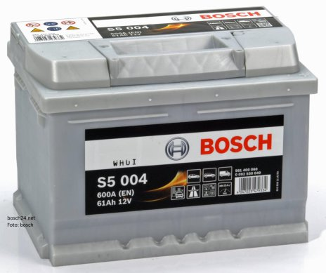 Startbatteri Bosch 12V/61Ah